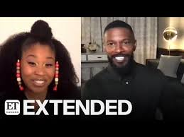 Dominique Fishback & Jamie Foxx Talk 'Project Power' | EXTENDED - YouTube