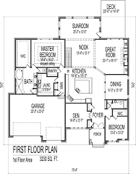 modern bungalow house floor plans