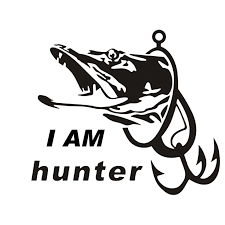 Fishing Hunter I Am Hunter Car Boat Sticker Fish Decal Posters Car Stickers Vinyl Decor Decals Car Stickers Aliexpress