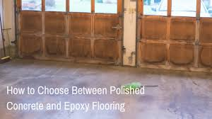 polished concrete and flooring
