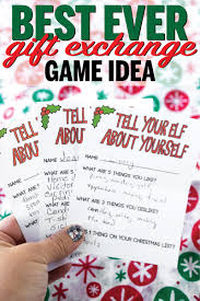 santa s helper gift exchange game