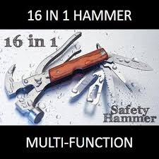 safety hammer and multifunction tool