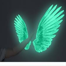 Creative Angel Wings Glowing Wall Stickers For Kids Room Luminous Wall Sticker Decals For Bedroom Living Room Wall Decoration For Kids Baby Wall Sticker Baby Wall Stickers From Ld19969 25 72 Dhgate Com