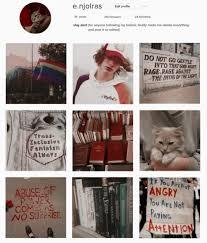 instagram profile aesthetic tumblr