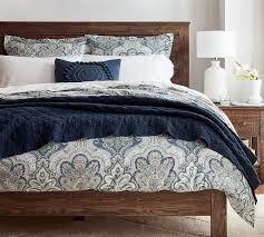 jordana percale patterned duvet cover