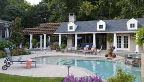 swimming pool house plans pool houses