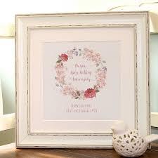 ruby wedding anniversary canvas print