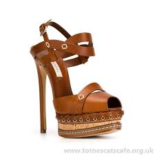 brown sandals leather p toe sti