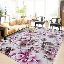 3d Flower Floral Carpets For Living Room Modern Kids Room Tapis Salon Long Kitchen Pink Floor Bedroom Rug Mats Home Decor Carpet Aliexpress