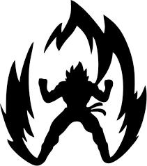 Dbz Dragon Ball Z Super Saiyan Goku Vinyl Car Window Laptop Decal Sticker Ebay