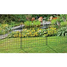 Zippity Outdoor Products Semi Permanent Black Metal Garden Fence 25 Inch Tall 5 Pack The Home In 2020 Metal Garden Fencing Garden Fence Panels Metal Fence Panels