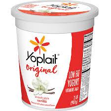 vanilla low fat yogurt 32 oz