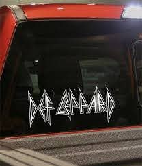Def Leppard Band Decal North 49 Decals
