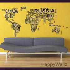 World Map Wall Sticker Map Of The World Wall Decal 3d Modern Wallpaper Map Wall Decal Decorating Modern Decor M35 Wall Sticker Map Wall Sticker World Mapsticker Map Aliexpress