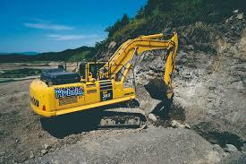 komatsu hb365lc hybrid excavator hd