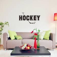 Hockey Wall Art Decals Stickers Sofa Bedrrom House Decoration Art Murals Kid S Room Living Room Posters Wish