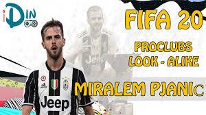 FIFA20 | Virtual Pro Lookalike Miralem Pjanić (Requested) - YouTube