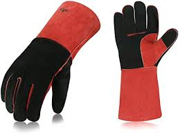 fire resistant gloves leather