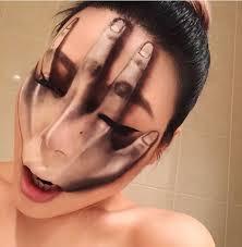 makeup artist creates illusions that