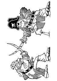 Kids N Fun Kleurplaat Piraten Gevecht