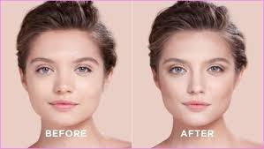 contour highlight makeup routine round
