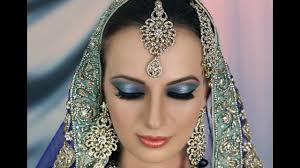 bridal makeup tutorial blue turquoise