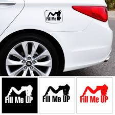 Car Stickers Help Me Fill Me Up Pull Fuel The Tank Cover Reflective Stickers Auto Products Car Accessories Decoration Decal Car Stickers Aliexpress