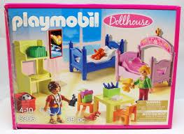 Playmobil Dollhouse Childrens Room 5306 New