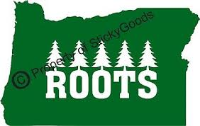 Oregon State Roots W Trees Vinyl Decal Sticker For Car Window Board Mug Yeti 6 04 Picclick