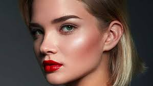 apply highlighter for a gorgeous glow
