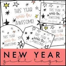 new year gift tags and cards new year gifts happy new year