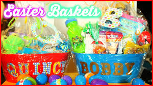 what s in the boys easter baskets