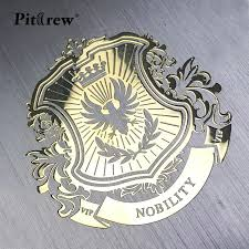Pitrew Nickel Metal Car Stickers Vip Lion Emblem Decal For Car Styling Laptop Sticker Stationery Sticker Automobile Accessories Decals For Cars Metal Car Stickerautomobile Accessories Aliexpress