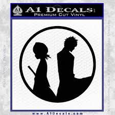 Bleach Ichigo Rukia Decal Sticker A1 Decals