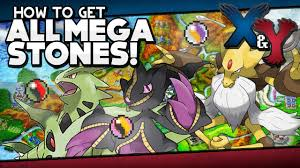 Pokémon X and Y - All Mega Stone Locations Guide! - YouTube