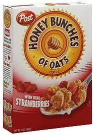 honey bunches of oats cereal with real