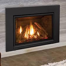wood gas fireplace inserts
