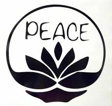 Peace Lotus Flower Girly Cool Car Truck Window Vinyl Decal Sticker 12 Colors Ebay