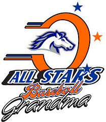 Orangecrest Pony Baseball Grandma Car Window Decal Tagsports