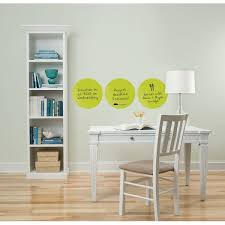 Shop Brewster Twpe0830 13 Diameter Dry Erase Dots Self Adhesive Repositionable Vinyl Wall Decal Set Of 6 Free Shipping On Orders Over 45 Overstock 16454986