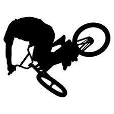 Bmx Bike Vinyl Decal Sticker For Car Truck Suv Bumper Wall Laptop Phone Case Ebay