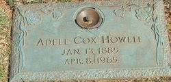 """Adele """"Annie"""" Cox Howell (1885-1965) - Find A Grave Memorial"""
