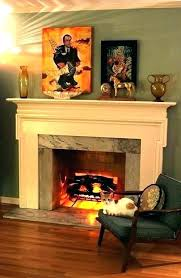 fake fireplace decor