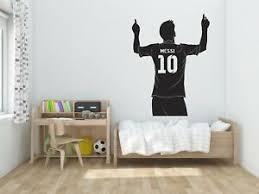Lionel Messi Barcelona 2017 Wall Decal Decor Stickers Vinyl Sport Ebay