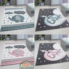 rug for kids play elephant nursery