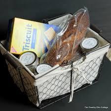 cheese spread mason jar gift basket
