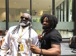 Rapper T-Pain Cosplays TEKKEN 7's Leroy Smith at Dragon Con 2019