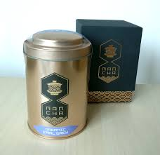 organic earl grey 50g gold canister
