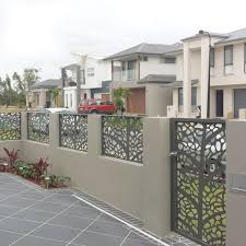 China Decorative Aluminum Fence Panel Manufacturers Suppliers Factory Customized Decorative Aluminum Fence Panel Keenhai