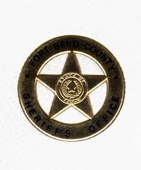 fort bend county sheriff gold badge